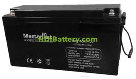 Bateria de Plomo 12 Voltios 150 Amperios (483X172X241mm)